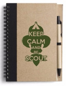 Notatnik harcerski KEEP CALM AND BE SCOUT